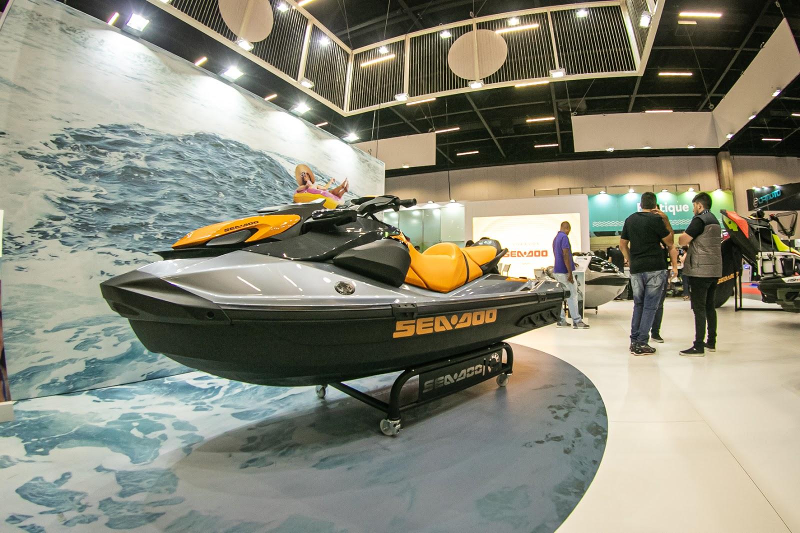 Sea-Doo apresenta novas motos aquáticas GTI no São Paulo Boat Show 2019