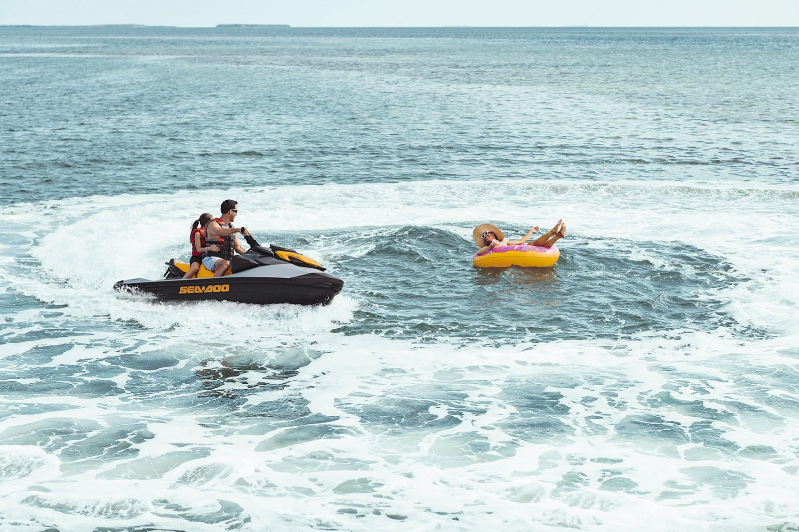 Divertida, estável e mais ágil: Sea-Doo apresenta a nova versão da moto aquática GTI