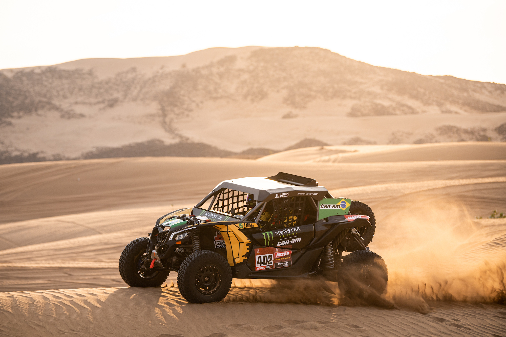 Can-Am lidera ranking dos UTVs no primeiro dia do Rally Dakar 2020