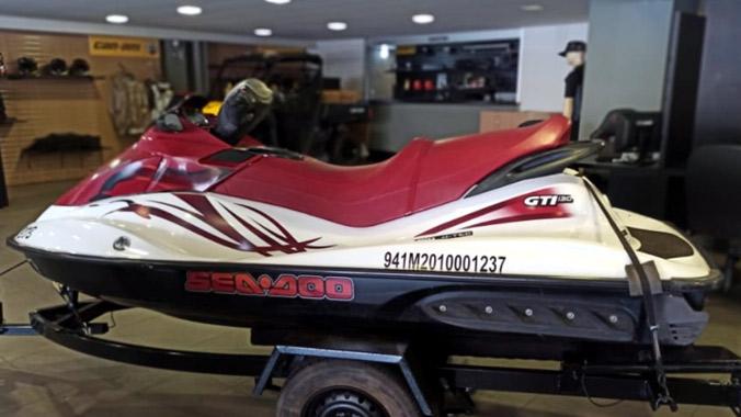 Moto aquática, Sea-Doo, jet-ski, Rotax GTI 130, excelente estado, diversão, econômica, carreta, capa protetora