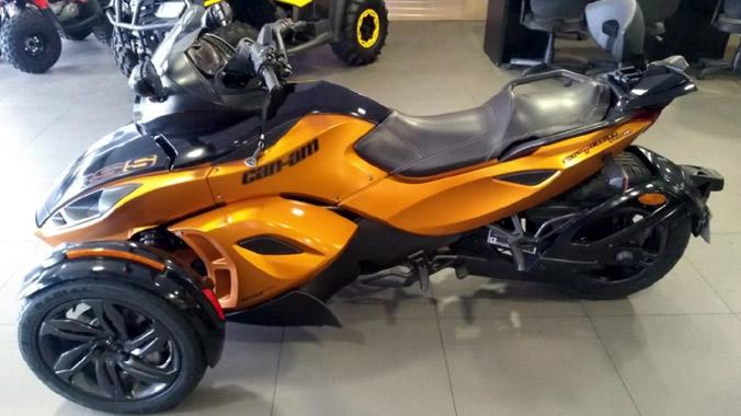 Can-Am Spyder, RS-S, 2013, Motor Rotax 998 cc, roadster, diversão,