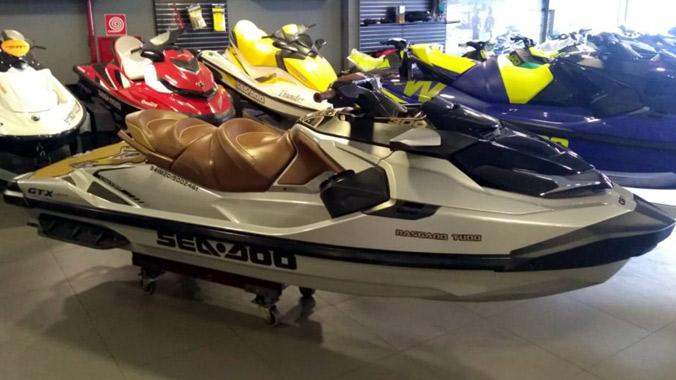 Sea-Doo, GTX 300 Limited, Rotax 1630, 3 lugares, jet-ski, sistema de som