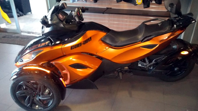 Can-Am Spyder RS-S, Rotax 998cc, 2013, on-road
