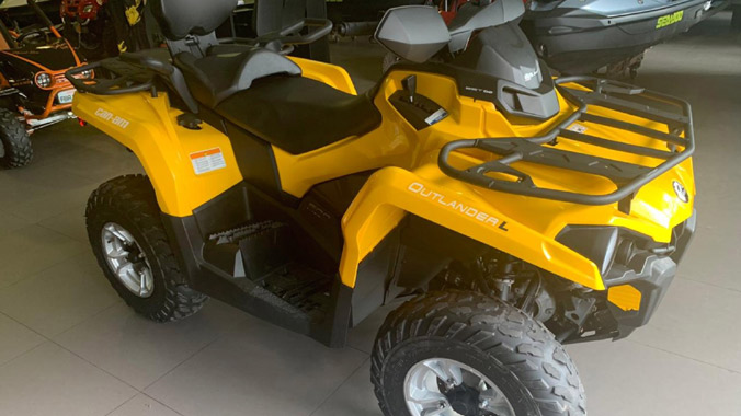 Can-Am, Outlander L Max 500, Rotax, V-Twin, 2 lugares, off-road