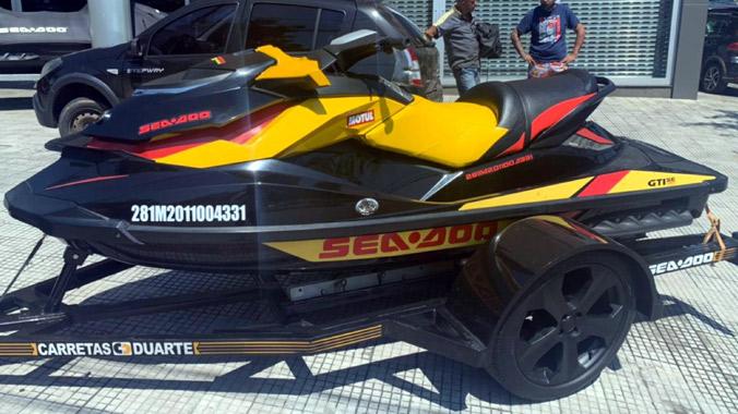 Sea-Doo GTI SE 130, Rotax, jet-ski, náutica