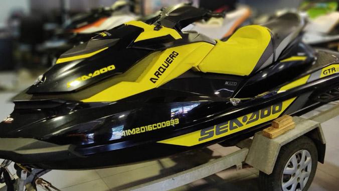 Sea-Doo GTR 215, Rotax 1500 HO ACE, motoaquática, náutica